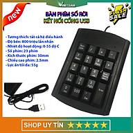 Bàn Phím Số Có Dây VINETTEAM 06 Kết Nối Cổng USB Cho Máy Tính Laptop Sử Dụng Cho Kế Toán -4471-Hàng Chính Hãng thumbnail