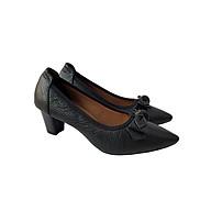 Giày Cao Gót Nữ Công Sở Da Bò BIGGBEN GCG6 thumbnail