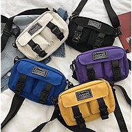 Túi đeo chéo Thời Trang Nữ Vải Bố Canvas Cao Cấp Có Khóa Kéo thời trang King168 mã T07 thumbnail