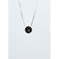 Dây Chuyền Bạc Thật 100% italy s925 Keely Valda pha lê Swarovski Black Diamond thumbnail