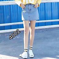 Chân váy jeans nữ đơn giản , xinh xắn, dễ phối mọi loại trang phục siêu xinh thumbnail