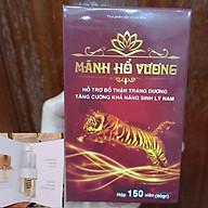 Mãnh Hổ Vương Viên Uống Hỗ Trợ Sinh Lý Cho Nam Giới, Tặng Kèm Mẫu Test Nước Hoa Lua Ngẫu Nhiên thumbnail