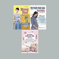 COMBO TRI THỨC THAI SẢN + MANG THAI THÀNH CÔNG + BÁCH KHOA NUÔI DẠY TRẺ TỪ 0-3 TUỔI thumbnail