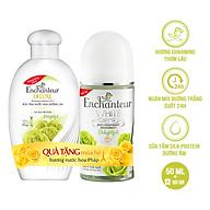 Lăn khử mùi trắng da Enchanteur Delightful 50ml - Tặng sữa tắm Delightful 60g SMP 2021 thumbnail