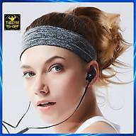 Băng đô thể thao headband cotton đeo trán thấm chặn mồ hôi chống trượt bản 5cm thumbnail