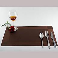 Combo 6 Miếng lót bàn chống trượt, cách nhiệt để bát đĩa Nhà của Mẹ kích thước 45x30cm - màu giao ngẫu nhiên tặng 1 miếng lót ly Ta thumbnail