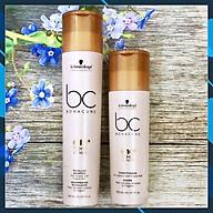 Bộ dầu gội xả Schwarzkopf BC Bonacure Q10+ Time Restore Micellar trẻ hóa tóc yếu dễ gãy rụng Đức 250ml thumbnail