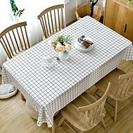 Khăn trải bàn decor kiểu Bắc Âu đơn giản hiện đại dễ lau dọn chống thấm dùng trong dã ngoại, sinh nhật thumbnail