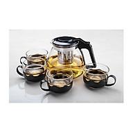 Bộ bình lọc trà thủy tinh cao cấp thumbnail