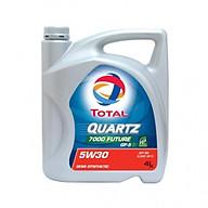 Nhớt động cơ Total QUARTZ 7000 FUT.GF5 5W30 4 lít - Dầu nhớt Total thumbnail