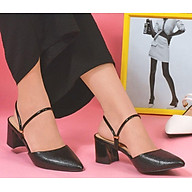 Giày Sandal Cao Gót Da Rắn Vasmono V015053 thumbnail