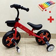 Xe đạp chòi chân cho bé, Xe đạp mini giành cho bé 4 trong 1 kèm giỏ xe Hot Nhất 2021, TẶNG KÈM ĐÀN XYLOPHONE 8 THANH CHO BÉ, Xe chòi chân, xe thăng bằng, xe đạp 2 bánh thumbnail