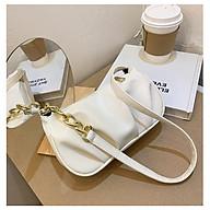 Túi kẹp nách nữ phối dây xích thời trang nhỏ gọn tiện dụng da mềm đẹp TK0095 thumbnail