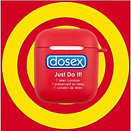 Airpods Case - Ốp bảo vệ dành cho Airpods 1 2 - Dosex Just Do It thumbnail