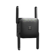 1200Mbps Dual Frequency 2.4G 5G Wireless Repeater WiFi Signal Amplifier WiFi Range Extender for Home Office Black thumbnail