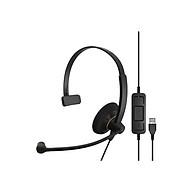 Tai nghe dòng SC30 USB ML hiệu Sennheiser, Hãng chính hãng, tổng đài viên thumbnail