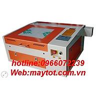 Máy cắt khắc laser model YH-4040 ứng dụng gia công các vật liệu phi kim như da, vải, Mica, pha lê, thủy tinh hữu cơ..v.v thumbnail