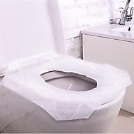 Miếng lót bồn cầu Đệm ngồi, dùng một lần cho bà mẹ sau sinh hoặc đi du lịch (gói 10 miếng) thumbnail