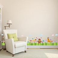 Decal dán tường động vật và hoa cỏ đáng yêu cho bé XH-7218 thumbnail