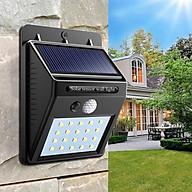 Đèn cảm biến hồng ngoại sử dụng năng lượng mặt trời thumbnail