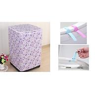 Vỏ bọc bảo vệ máy giặt loại dày ( giao màu ngẫu nhiên) tặng kèm dụng cụ nâng nắp bồn cầu silicon thumbnail