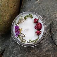 Nến thơm tinh dầu Hoa Lily 100g, làm thơm phòng, khử mùi, thư giãn giảm stress Essential Oil Candle thumbnail