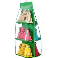 Kệ simili nhựa treo bảo quản túi xách sáu ngă đa năng, tiện lợi (giao màu ngẫu nhiên) thumbnail