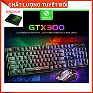 Combo Bàn phím GTX 300 + CHUỘT + Lót Razer - Hàng Nhập Khẩu thumbnail