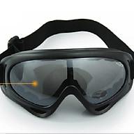 Kính thể thao ngoài trời Kính xe máy Kính trượt tuyết X400 - Đen thumbnail