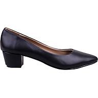 Giày Búp Bê Nữ Gót Vuông Mũi Nhọn Mozy thumbnail