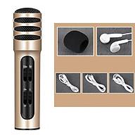 Micro Thu Âm Hát Karaoke Online Livestrem C7 Dùng Được Trên Cả Điện Thoại Và Máy Tính, Với Khả Năng Lọc Âm Tốt Với 2 Lớp Kim Loại thumbnail