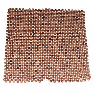Đệm ghế văn phòng hạt gỗ hương mộc 12 ly DVP12M (45 x 45 cm) thumbnail