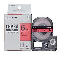 Băng mực in nhãn Tepra cỡ 6mm dùng cho máy KING JIM TEPRA PRO SR-R170V SR530 SR970 SR5900P - HÀNG CHÍNH HÃNG thumbnail