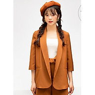 Áo Vest nữ cam nâu - TB020A La Mia Fashion Design thumbnail