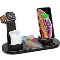 Đế Sạc Không Dây Đa Chức Năng 4 in 1 Cho Apple Watch & Iphone & AirPods US04- Hàng chính hãng thumbnail