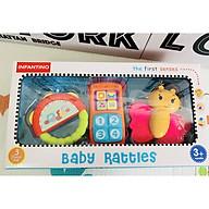 Set 3 món xúc xắc cao cấp Infantino thumbnail
