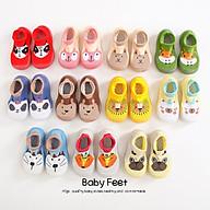334 Giày bún tập đi cho bé thoáng khí mẫu mới 2020 hình họa tiết hàng quảng châu thumbnail