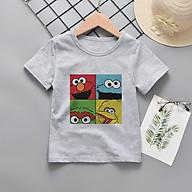ATE02 Áo Trẻ Em In Nhiệt Emotions 4 Ô , thun co giản 4 chiều, thời trang, không kích ứng da, bé mặc thoải mái thumbnail