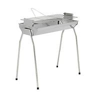 Bếp nướng than hoa VCL thay đổi chiều cao vỉ, Inox không gỉ sét, chống cháy thực phẩm, an toàn sức khỏe, không cần quạt, bếp nướng không khói, bếp nướng ngoài trời, bếp nướng than hoa vuông thumbnail