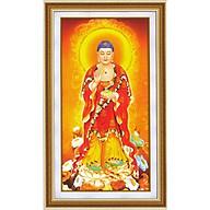 Tranh thêu chữ thập 3D Phật (40 70cm) chưa thêu thumbnail