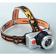 Đèn pin 3 màu Q5 có dây đeo trán tiên lợi (Tặng kèm đèn pin mini bóp tay ngẫu nhiên) thumbnail
