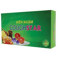 Viên ngậm ho thảo dược Coughstar - Giúp nhuận phế, bổ phế, tiêu đờm, giảm đau rát họng, khản tiếng do ho kéo dài, vị dễ ngậm, hơi thở thơm mát thumbnail