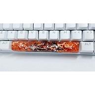 Keycap artisan cá koi spacebar 6.25u trang trí bàn phím cơ. thumbnail
