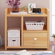 Tủ đầu giường 3 ngăn bằng gỗ tiện dụng, kệ để đồ đa năng chịu nước chống mọt thumbnail
