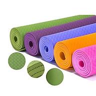 Thảm Tập Yoga 2 Lớp, Chất Liệu Cao Su Chống Trượt Siêu Bền, Siêu Mềm thumbnail