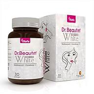 Viên uống trắng da Dr.Beautin SUPER WHITE - Hỗ trợ làm sáng da, giảm nám da, tàn nhang, giảm mụn. thumbnail