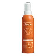 Chai xịt chống nắng bảo vệ tối đa Avène Very High Protection Spray Very Water Resistant SPF50+ (200ml) thumbnail