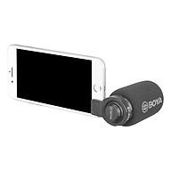 Micro Thu Âm Chuyên Nghiệp - BOYA Smartphone Microphone BY-A7H - Hàng Chính Hãng thumbnail