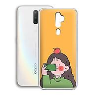 Ốp lưng điện thoại Oppo A5 2020 - 01252 7899 GIRL01 - in hình chibi dễ thương - Silicon dẻo - Hàng Chính Hãng thumbnail