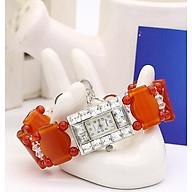 Đồng Hồ Nữ Đá Mã Não Đỏ DHN20 Bảo Ngọc Jewelry thumbnail